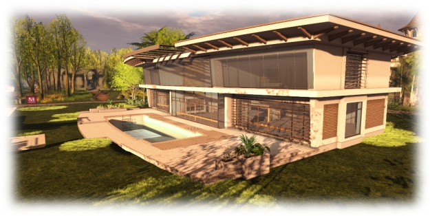 A Maven Home featured at the 2014 Home and Garden Expo