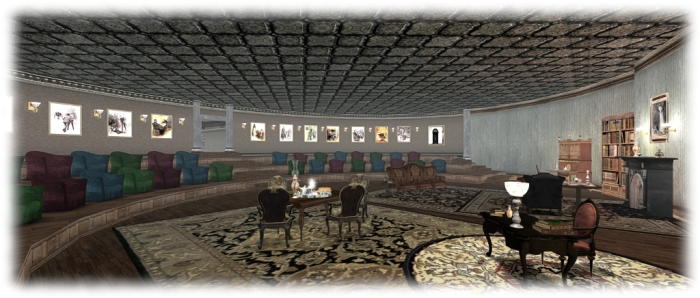 Crazy Eights: the lounge at 221B Baker Street stands ready to receive guests