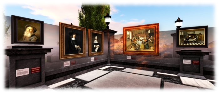 Paintings of the Dutch Masters - Holly Kai Garden