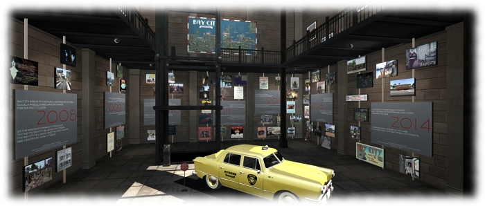 The Bay City History exhibition covers three floors and present visitors with a chronological history of Bay City - and more