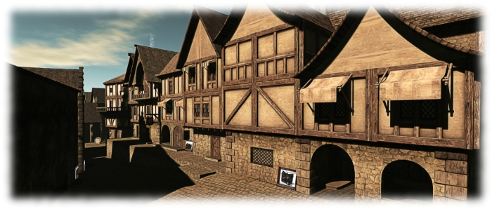 Abel's Medieval town buildings complex - Morphe Northwinds