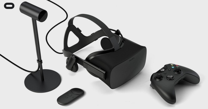 Oculus CR-1 with microphone, Oculus Remote and Xbox wireless controller