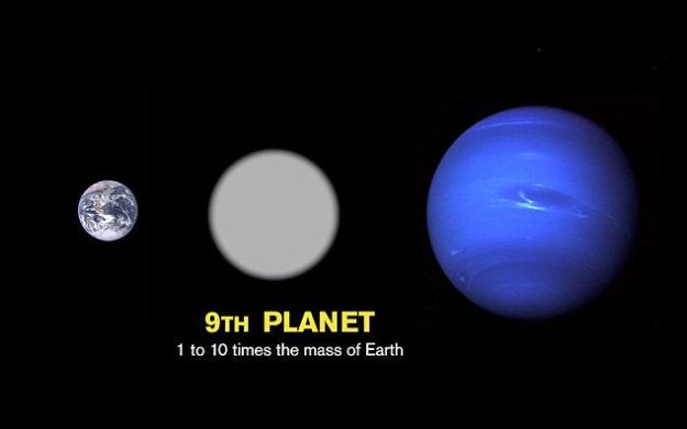 If it does exist, Planet X is probably around 10 times the mass of Earth, putting it between Earth and Neptune in size