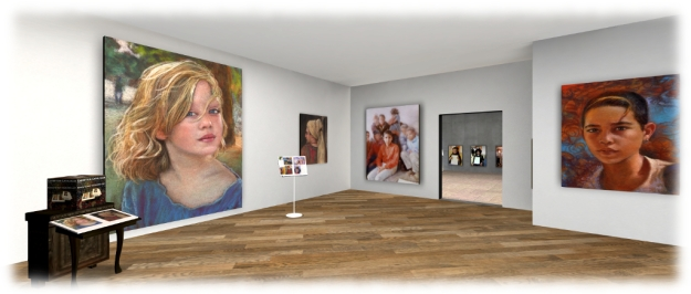 The Portraits of Silas Merlin - Gallery 24