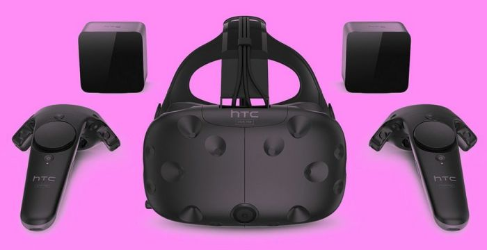The HTC Vive Pre (image: HTC)
