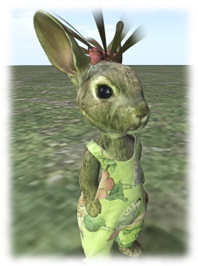 Bento has huge implications for avatars of all kinds - even bunnies, as Etheria Parrott demonstrates with the facial features on this Bento Bunny . watch the video