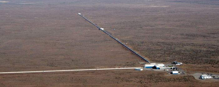 The LIGO observatory, Hanford, Washington State