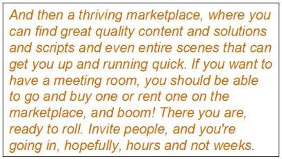 Ebbe Altberg on Sansar's marketplace, January 21st, 2016