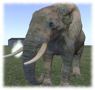 Medhue Simoni's Bento elephant is now available - requires a Bento viewer to use / render correctly