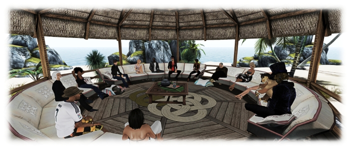 Bento project meetings were held in-world, allowing Lab staff and content creators / animators develop the project collaboratively.