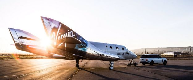 SpaceShipTwo VSS Unity, rolled-out on February 19th, 2016