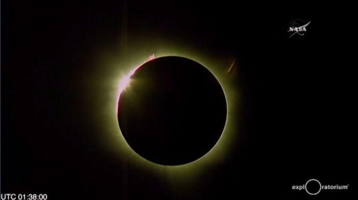 Credit: NASA webcast