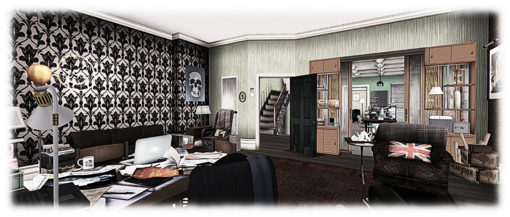 A Return To Baker Street In Second Life Inara Pey Living In A
