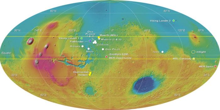 Schiaparelli should touch down in the Meridiani Planum during the dust storm season