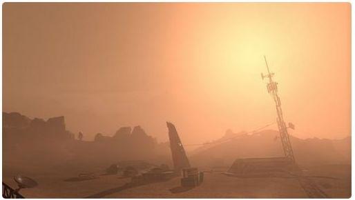 Sansar Mars landscape (via Linden Lab)