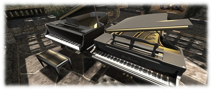 The new piano offers a far more natural grand piano form then the earlier sculpted model, with a much higher level of detail