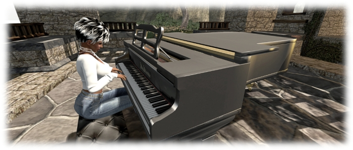 The new PrimPossible mesh piano