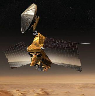 Mars Reconnaissance Orbiter (MRO - credit: NASA / JPL