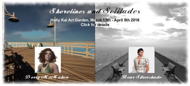 Holly Kai Art Garden - Shorelines and Solitudes