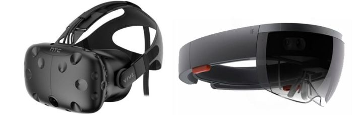 The HTC Vive and Microsoft HoloLens: available to pre-order (sort-of in the case of the HoloLens)