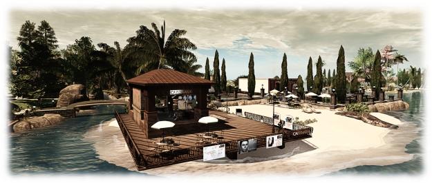 Holly Kai Park: the relocated Caitinara Bar on the new beach