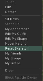 reset skeletion
