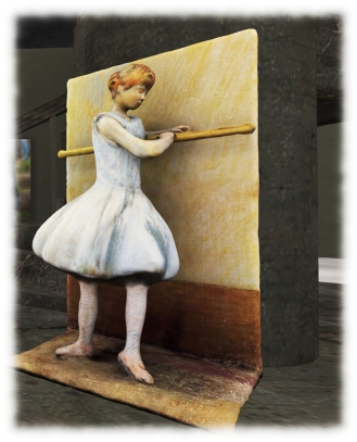 Silas Merlin: Dancer at the Barre - Visions of Beauty Gallery