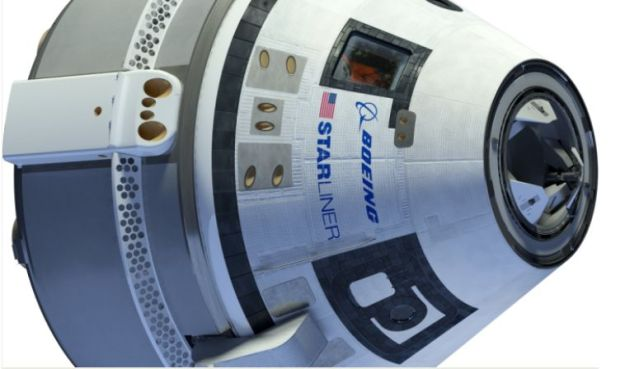 The CST-100 Starliner. Credit: Boeing