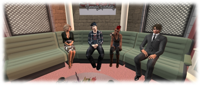 Saffia, Patch, Dee and Zander - Meet the Lindens
