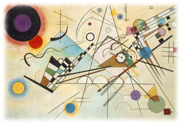 Wassilly Kandinsky - Composition viii, 1923