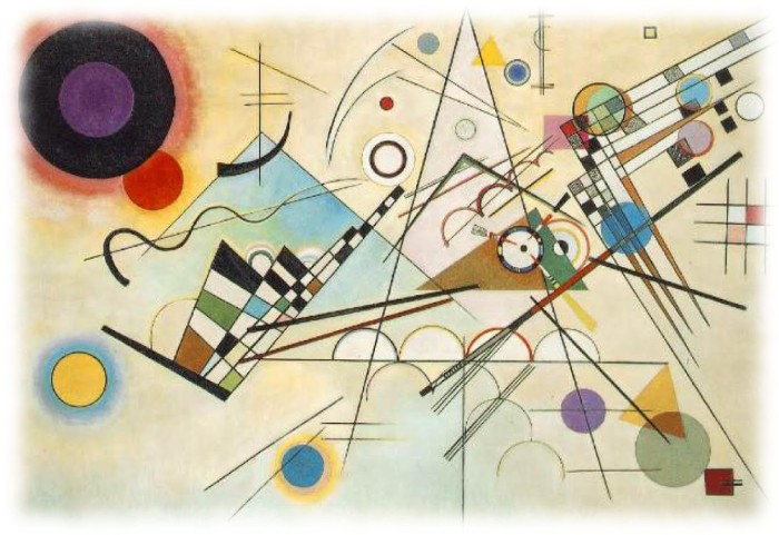 Wassilly Kandinsky - Composition viii, 1923