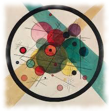 Wassilly Kandinsky - Circles in a Circle, 1923