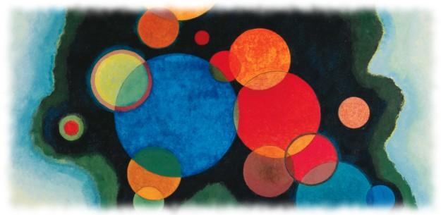 Wassilly Kandinsky - Deepened Impulse (detail), 1928