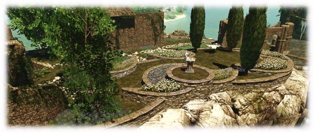 Skye Tiered Garden Wall Building Set