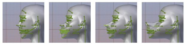 Machinimatrix have produced a workflow process to handle the correct placement of facial bones. This is not intended to be the finished means of doing so, but is offered to counter issues currently being encountered