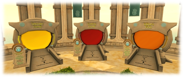 Incoming new users can find their way to the Gaming Islands via a dedicated teleport portal on the Social Islands