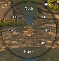 The Pie Menu should now look smoother and includes the options for animation text and adding the outer ring shading (via Black Dragon), as shown above