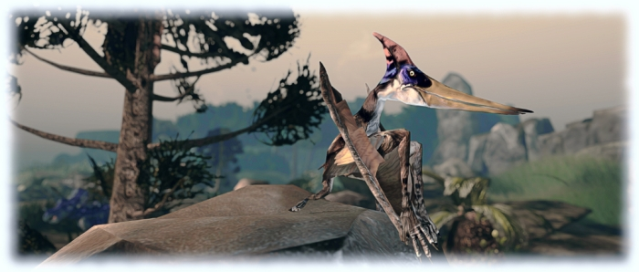 "Prehistorica: The Dawn kingdom - pteranodon (aka: ""polly wants a cracker. NOW!"")"