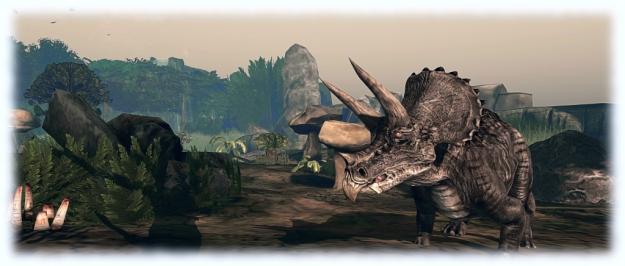 Prehistorica: The Dawn Kingdom: triceratops