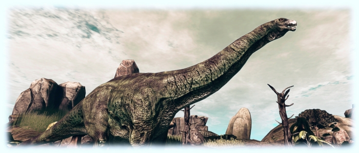 Prehistorica: Dawn of Time - apatosaurus