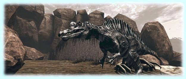 Prehistorica: The Dawn Kingdom - spinosaurus