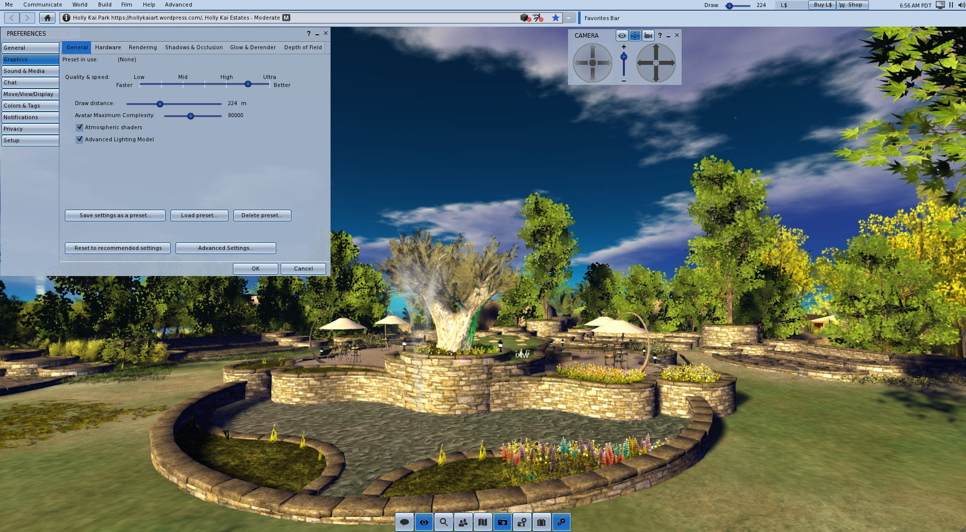 Second Life viewer: Starlight UI skins and options – Inara