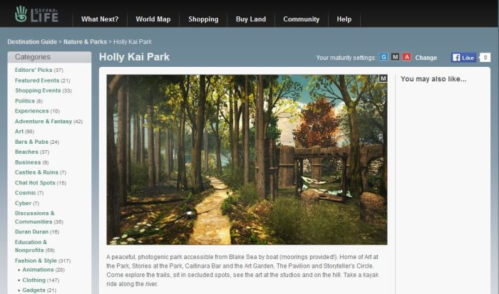 Holly Kai Park - now in the Destination Guide