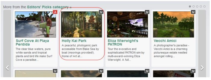 Yay! Holly Kai Park in Editor's Picks