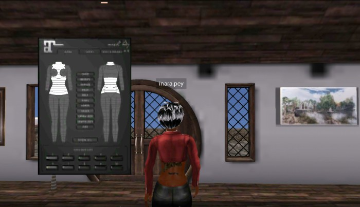 Lumiya 3.1 should allow mesh body users to use their HUD systems - use pinch-zoom to enlarge the HUD if required
