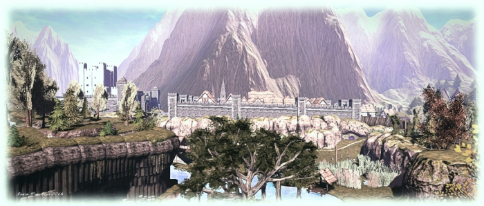 Revenland: the castle and town