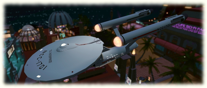 The iconic starship - and you can celebrate Star Trek's 50th anniversary at Trek for a Cure through to September 11th, 2016