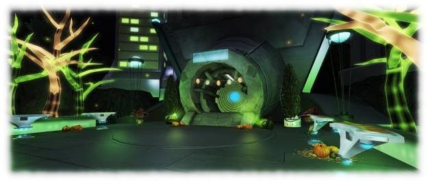 A hint of things to come? One of the unnamed areas in the revamped Portal Parks