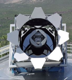 The Sloan Digital Sky Survey telescope, New Mexico. Credit: SDSS / Fermilab Visual Media Services / NASA
