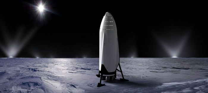 Musk proposes that the ITS system could even be used for very deep space missions, such as to Saturn Moon Enceladus, which is another place believed to have a liquid ocean under its crust of ice - and the water would provide a good fuel stock